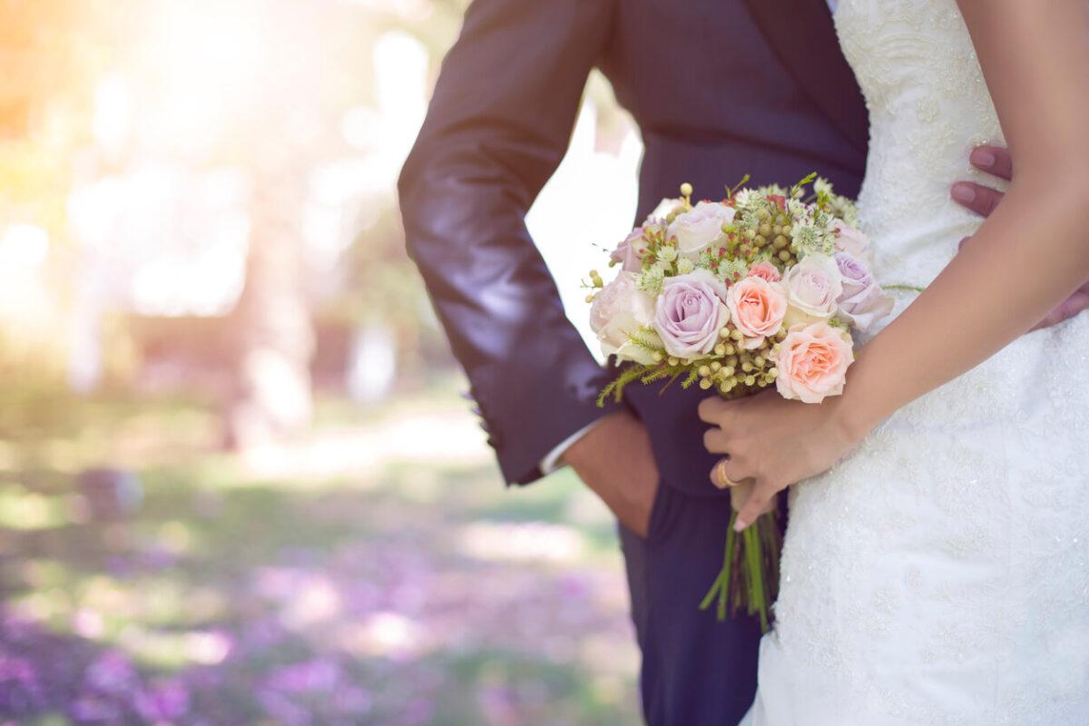 Hochzeit-Hochzeitspaar