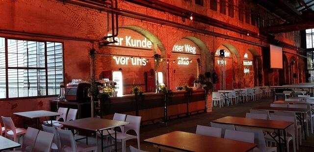 Garden Bar in der Kulturwerft Gollan