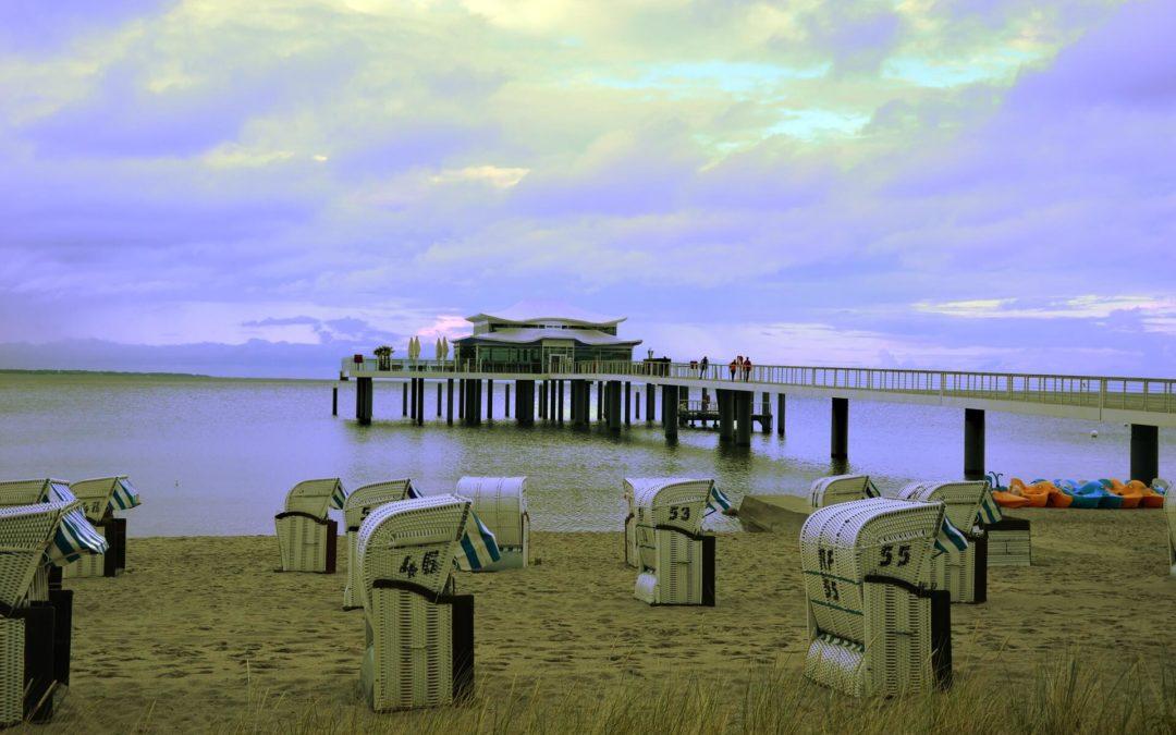 Wolkenlos Timmendorfer Strand