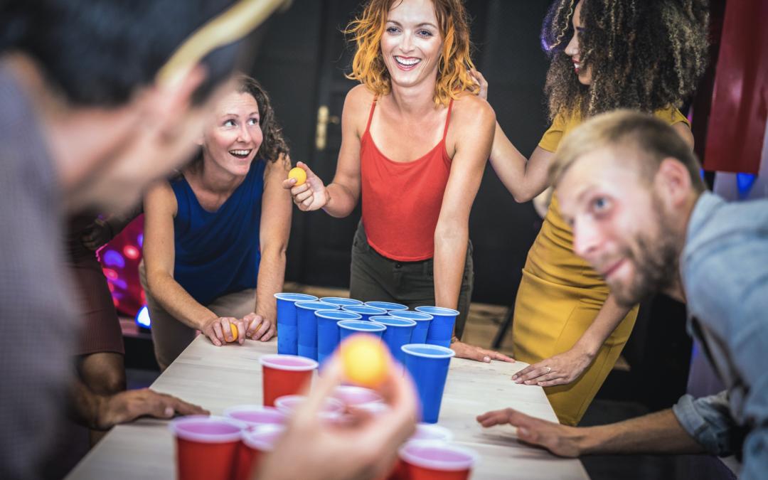 Beerpong für die Party